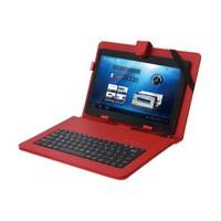 """Everest Kb-Tab10 Kırmızı 10"""" Mini Usb Türkçe Q Klavye + Tablet Pc Kılıfı"""