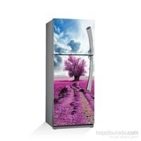 Artikel Lavanta Bahçesi Buzdolabı Stickerı Bs-004