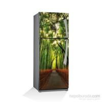 Artikel Ağaçlı Yol Buzdolabı Stickerı Bs-023