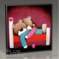 Pluscanvas - Lovely Bears Tablo