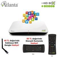 Atlanta G3 Hd Box Smart (Android, Hybrid) Uydu Alıcısı (Full HD) + Klavye Kumanda + Wi-Fi Adaptör Hediyeli