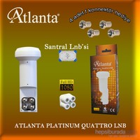 Atlanta Platinum Quattro LNB (Merkezi Sistem Kullanımına Uygun)