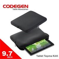 """Codegen 9,7"""" Siyah Tablet Taşıma Kılıfı"""