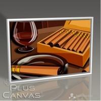 Pluscanvas - Veronica Moe - Cigars Tablo