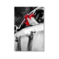 Tictac Kırmızı Ayakkabılar Kanvas Tablo - 40X60 Cm