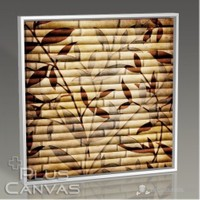 Pluscanvas - Bamboo Wallpaper Tablo