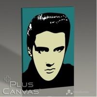 Pluscanvas - Elvis Presley - Pop Art Tablo