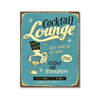 Tictac Cocktail Lounge Kanvas Tablo - 50X75 Cm