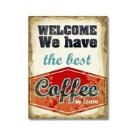 Tictac Coffee 4 Kanvas Tablo - 60X90 Cm