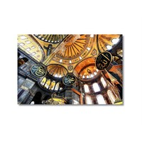 Tictac Ayasofya 4 Kanvas Tablo - 40X60 Cm