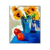 Tictac Dekoratif Naturmort Kanvas Tablo - 60X90 Cm