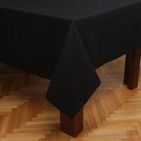MissiaHome Solid Masa Örtüsü -Siyah 160X220