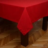 MissiaHome Solid Masa Örtüsü -Kırmızı 140X170