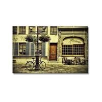 Tictac Sokaklar Kanvas Tablo - 40X60 Cm