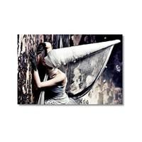 Tictac Dekoratif Kanvas Tablo - 50X75 Cm