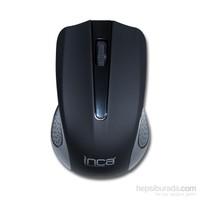 Inca IWM-T371S 2.4Ghz Kablosuz Nano Alıcılı Siyah Mouse