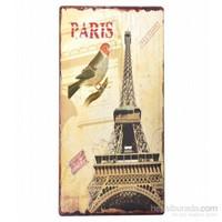 Decotown Paris Eyfel Kulesi Ahşap Pano 30*60 (18058)