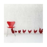 Birka Grafiti - Kırmızı Tavuklar