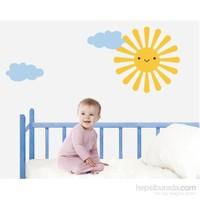 Bestasticker Güneş Ve Bulutlar Sticker