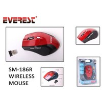 Everest Sm-186R Usb Kırmızı 2.4Ghz Kablosuz Mouse