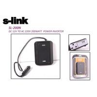 S-Link Sl-200N 200W Dc12v-Ac230v İnverter