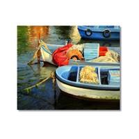 Tictac Sandallar Kanvas Tablo - 60X60 Cm