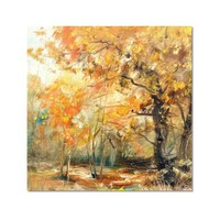 Tictac Dekoratif Doğa Kanvas Tablo - 60X60 Cm