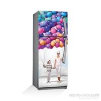 Artikel Neşeli Balonlar Buzdolabı Stickerı Bs-091