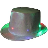 Pandoli Işıklı Parti Şapkası Gri