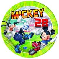 Pandoli Mickey Goal Tabak 23 Cm 8 Adet