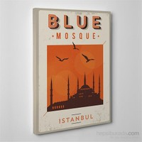 Tabloshop Blue Mosque Kanvas Tablo