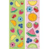 Parti Paketi Sticker Tutti Frutti 8'Li
