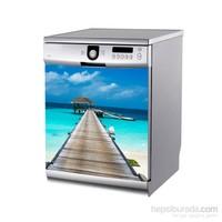 Artikel Bali Adası Bulaşık Makinası Stickerı Bs-166