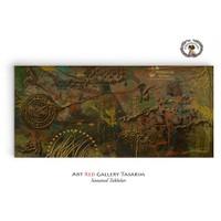 Artred Gallery Soyut Tablo-2 40x80