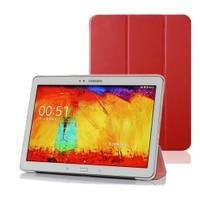 Microsonic Samsung Galaxy Tab4 T530 Smart Case Ve Arka Kılıf Kırmızı