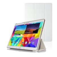 Microsonic Samsung Galaxy Tabs T800 Smart Case Ve Arka Kılıf Beyaz