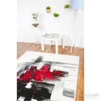 Esse Halı Siyah Kırmızı 80x150 cm