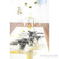 Esse Halı Gri Sarı 80x150 cm