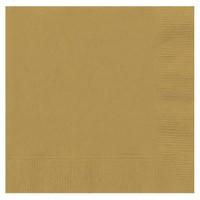Pandoli 20 Adet Altın Renk Kağıt Parti Peçetesi 33 Cm