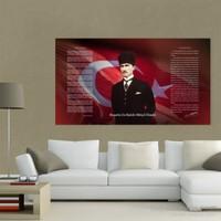 Atlantis Tablo Atatürk Köşesi 110X60 Cm