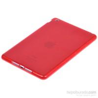 Qapak İpad Mini Silikon Kapak Kırmızı