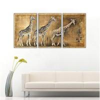 Ritmo Canvas Zürafa Kanvas Tablo