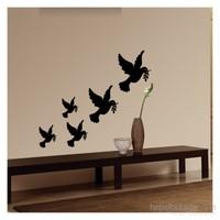 Artikel Barış Güvercinleri Duvar Sticker