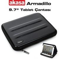"Akasa Armadillo 9.7"" Tablet ve iPad Uyumlu Siyah Stand ve Sert Tablet Kılıfı (AK-NBC-41BK)"