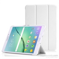 Microsonic Samsung Galaxy Tab S2 8.0'' Smart Case Ve Arka Kılıf Beyaz