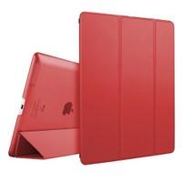 Microsonic İpad 2/3/4 Smart Case Ve Arka Koruma Kılıf Kırmızı