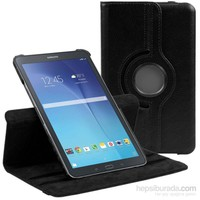 Lopard Samsung Galaxy Tab E T560 Kılıf 360° Dönebilen Standlı Kapaklı Kılıf