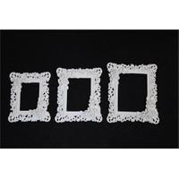 Hobi Polyester 3 Lü Ayna-Resim Çerçeve Duvar Süsü