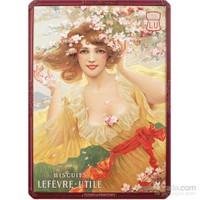 Metal Poster - Lu Fleurs De Prıntemps - Matignon 15X20cm