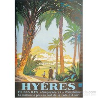 Metal Poster - Hyeres - Broders 15X20cm.